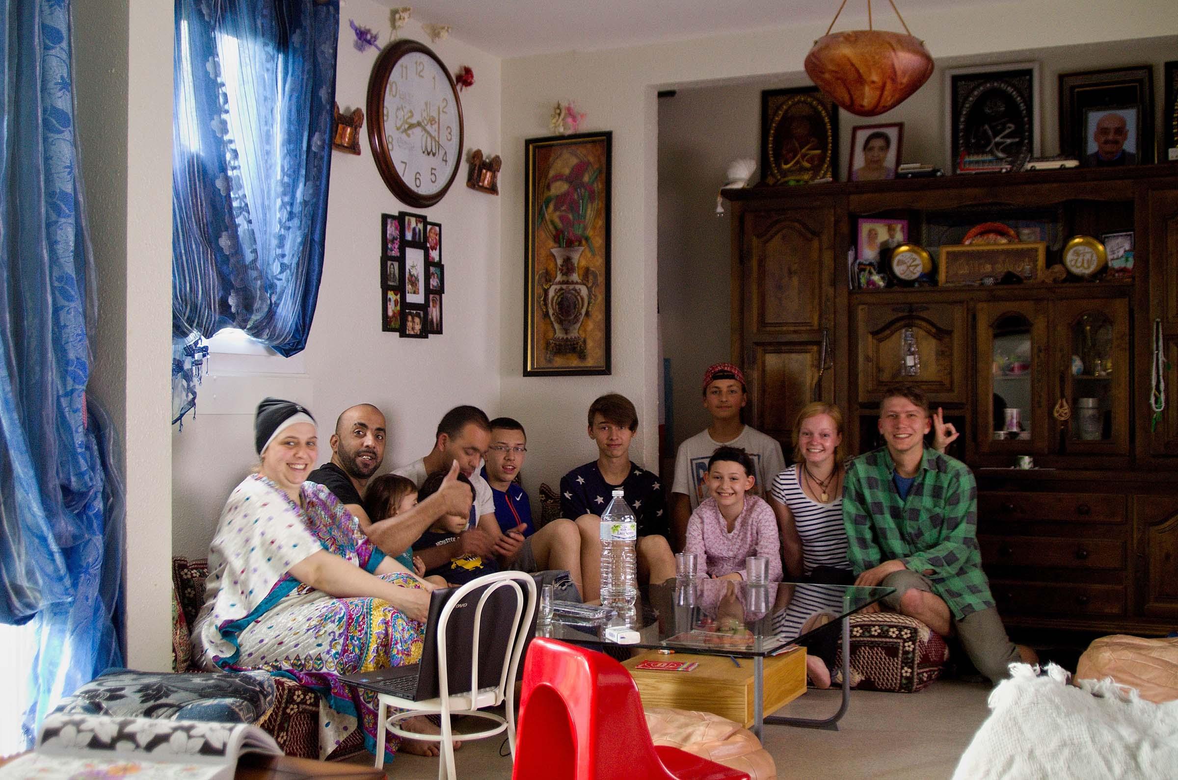 Na návštěvě u alžírské rodiny